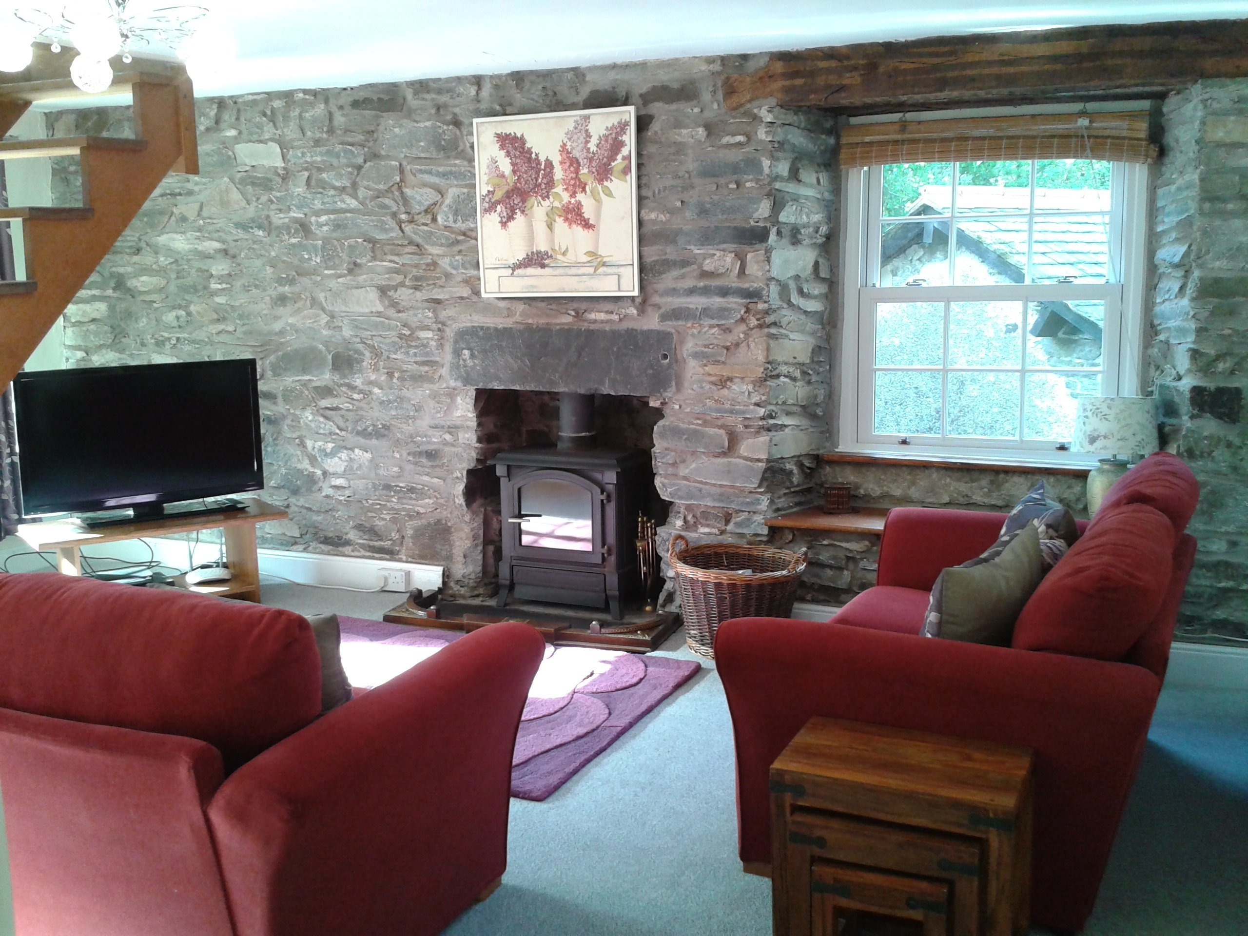 Little Galey Lounge Holiday Cottage accepts pets